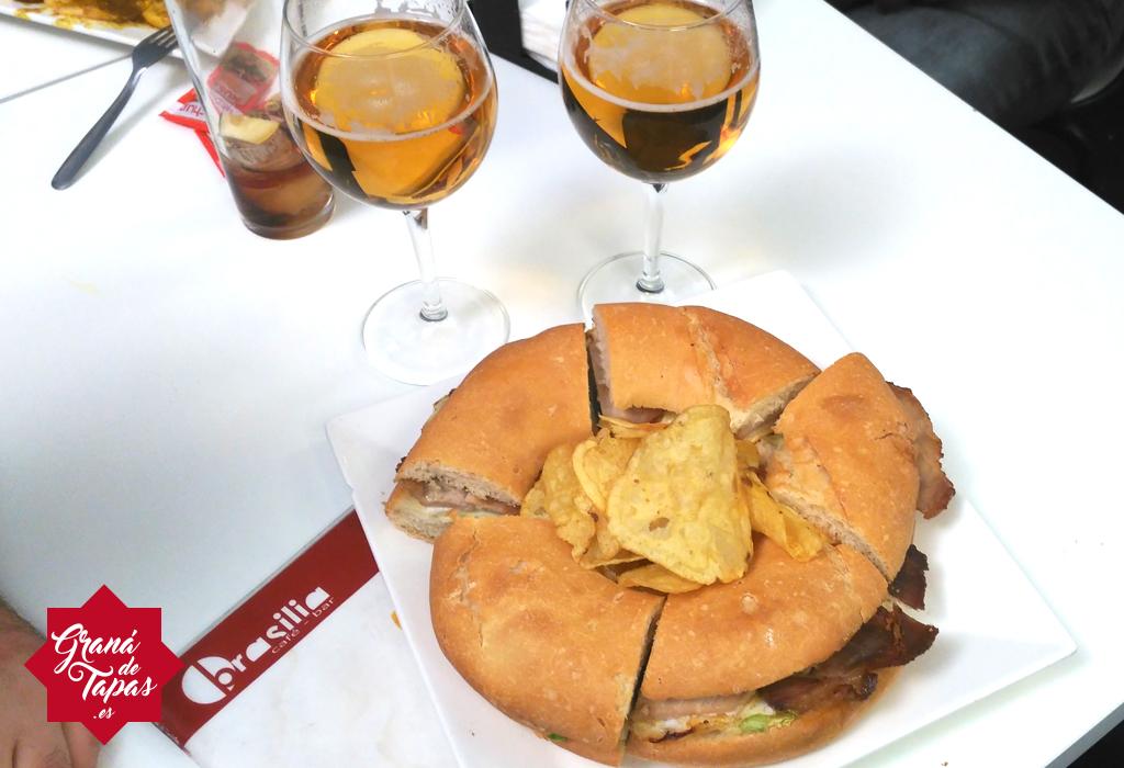 Rosca en Bar Brasilia